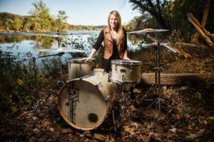 Jacqueline Cassell, Jacqueline Cassell SJC, Jacqueline Cassell SJC Drums, SJC Drums, SJC Custom Drums